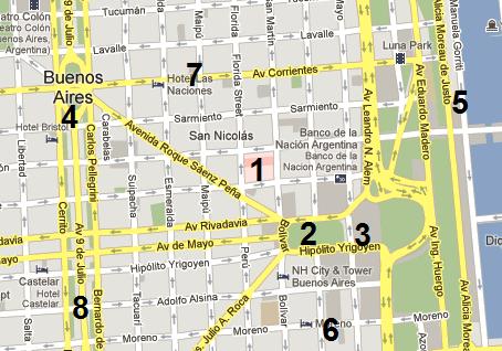 BASI ubication map