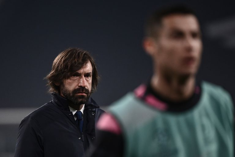 With Cristiano Ronaldo, Juventus expected more from Pirlo, who could not achieve the club's tenth consecutive Scudetto