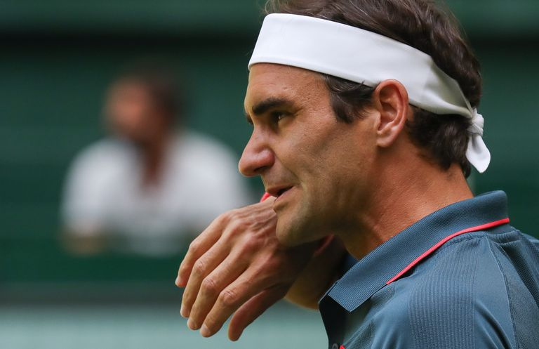 The Swiss Roger Federer said goodbye in the 8th final of Halle when he lost to the Canadian Felix Auger-Aliassime.